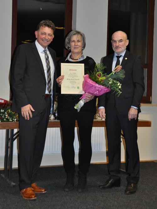 Birgit Bayer-Tersch 25 Jahre SVP