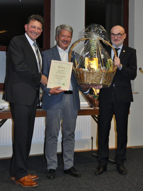 Wolfgang Buchner 50 Jahre SVP