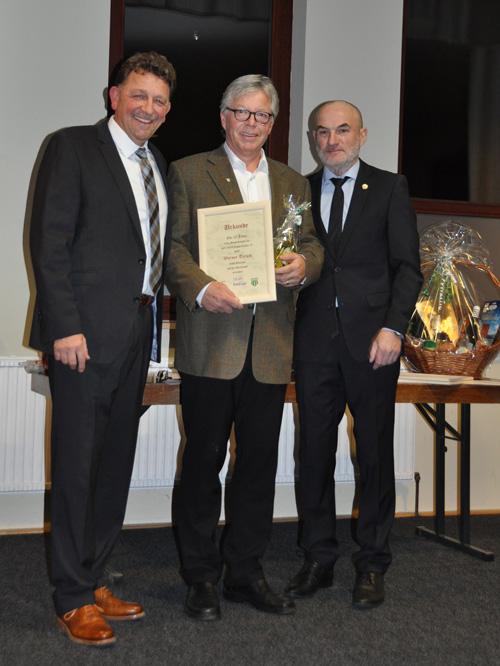 Werner Tersch 25 Jahre SVP