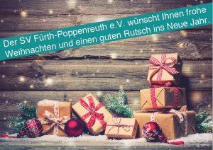 Weihnachtsgrüße vom SVP