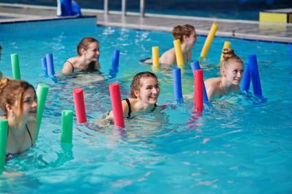 "Neue Kurse ab September 2018 Aquafitness-""Schwimmnudelauflauf"""