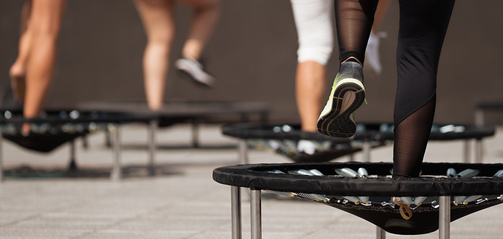 Trampolin-Joggen im Winter startet bald