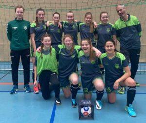 U15-Juniorinnen gewinnen Hallenturnier beim TSV Altenberg