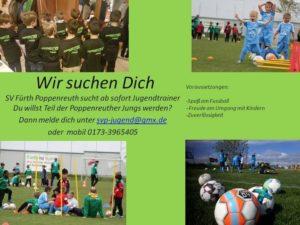 Read more about the article Unsere Fußballkinder brauchen Trainer!